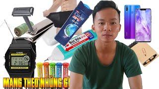 #NVQS | Những đồ cần thiết phải mang theo khi nhập ngũ | Tiêu Tiêu