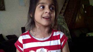 Sara 6yrs singing old Indian hindi song