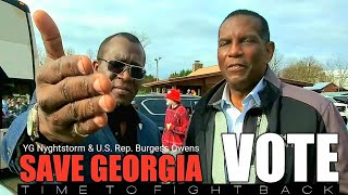 Burgess Owens & YG Nyghtstorm| THIS IS YOUR MOMENT GA. VOTE & SAVE AMERICA!