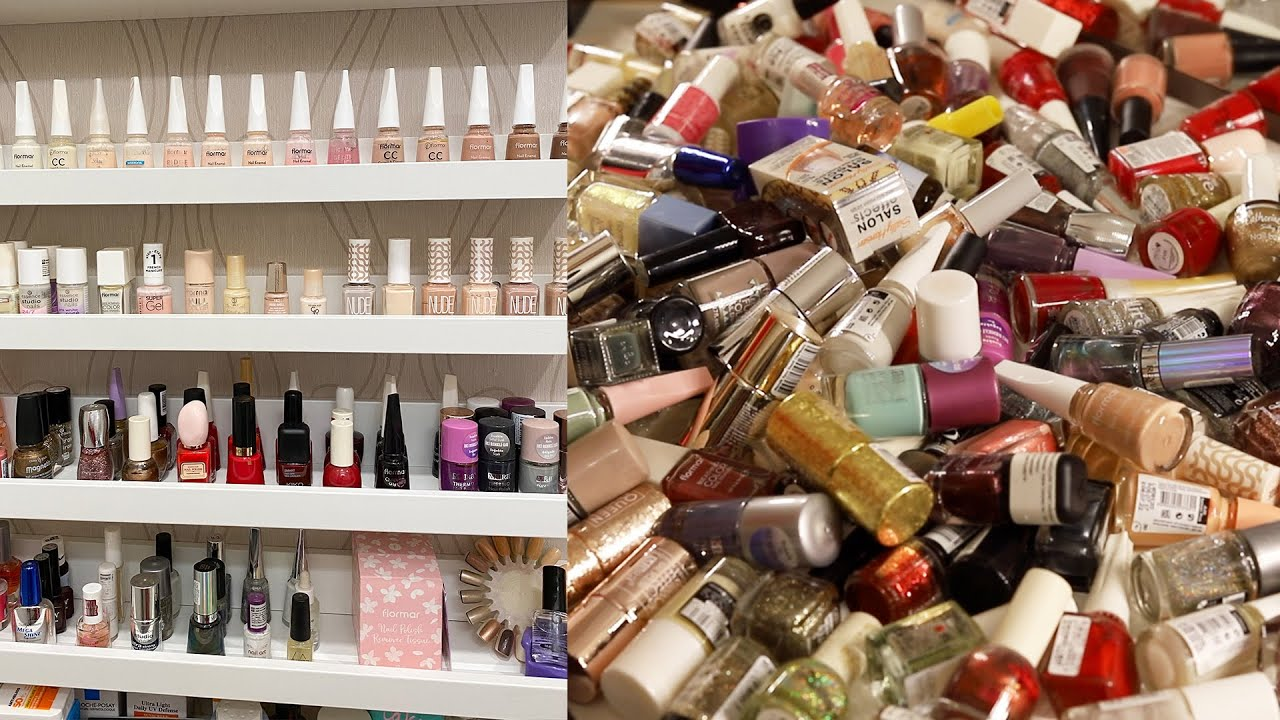 Makyaj Koleksiyonu Temizleme Ojeler