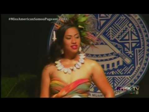 2016 Miss American Samoa Pageant