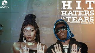Wendy Shay - H. I. T (Haters In Tears) ft. Shatta Wale [Lyrics Video]
