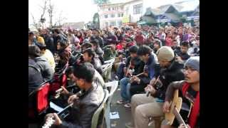 Imagine - John Lennon Largest Guitar Ensemble at Darjeeling