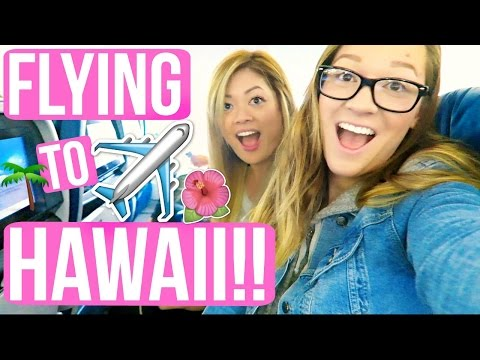 FLYING TO HAWAII!!! VLOGMAS DAY 10!!