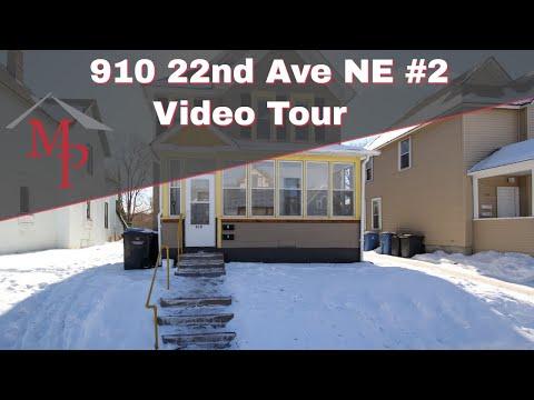 910 22nd Ave NE #2, Minneapolis - Video Rental Tour