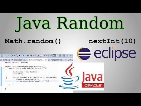 Java Random Tutorial (Math.random() Vs Random Class NextInt() NextDouble() )