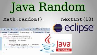 Java Random Tutorial Math random vs Random Class nextInt nextDouble