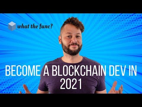 Blockchain Developer Roadmap 2021