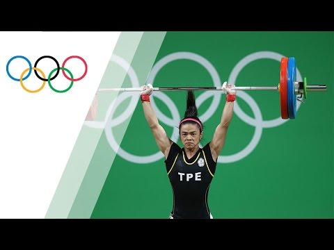 Chinese Taipei Shu-Ching wins gold in Women's 53kg Weightlifting