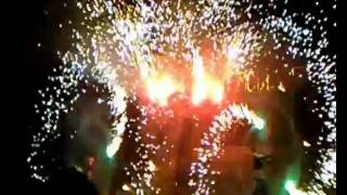 Фаер-шоу и фейерверк на Фестивальном(, 2011-07-16T22:48:33.000Z)