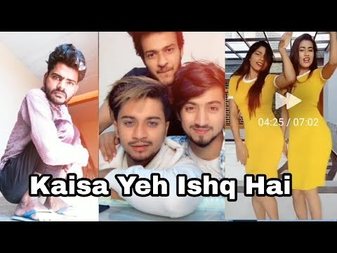 Koi Bole Dariya Hai Kaisa Kaisa Hai Ishq || Mr Faizu Team 07 || New Riyaz Tik Tok Viral Videos