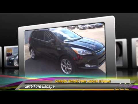 New 2015 Ford Escape Fc195 Sunbury Youtube