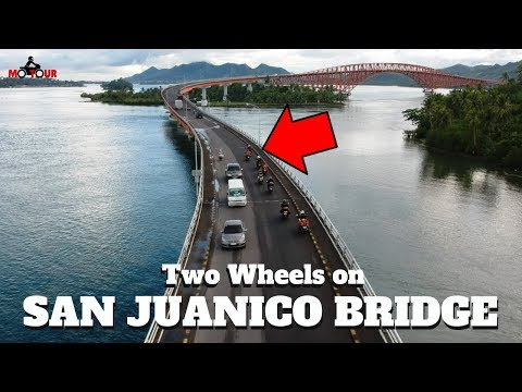 Eastern Visayas AdvenTour Ep5: LEYTESan Juanico BridgeMacArthur Landing ParkCalle Z Tacloban City
