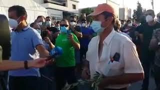 Agricultor Español habla sobre las importaciones,alto y claro.