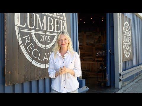 Emily Henderson discovers Ross Alan Reclaimed Lumber