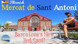 MERCAT de SANT ANTONI in BARCELONA   SPAIN TRAVEL GUIDE thumbnail