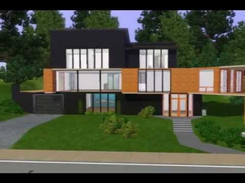 Cullens House From Twilight the sims 3 - house 2 (the cullen house) - youtube