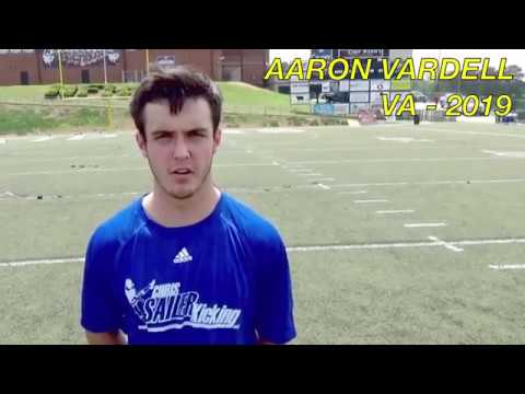 Chris Sailer Kicking, Aaron Vardell, April 2017