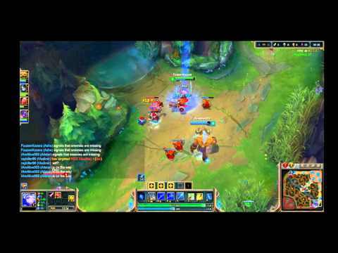 League of Legends (Garena) Heartseeker Ashe gameplay (no Commentary)