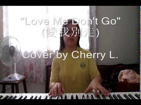 Love Me Don't Go 愛我別走 - Chang Chen-Yue 張震嶽 (Cherry L. Acoustic English Cover)