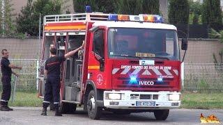 [Sapeurs Pompiers] SDIS 13 CIS St.-Rémy-de-Provence (départs) + Forestiers-Sapeurs + Gendarmerie