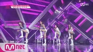 [Produce 101] You'll get a crush on me~ - Group 1 After School ♬AH EP.04 20160212
