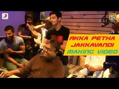 Maruthu - Akka Petha Jakkavandi Making Video | Anirudh Ravichander | D. Imman