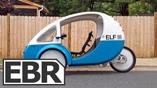 Organic Transit ELF Video Review - Solar Powered Recumbent Electric Trike