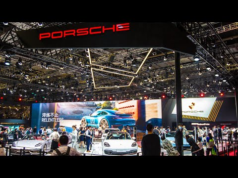 Auto Shanghai: Porsche China hopeful for another record year of deliveries