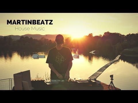SUNSET HOUSE MUSIC MIX   Martinbeatz Vinyl DJ Set