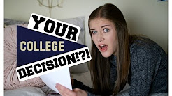 How to Make your College Decision + Why I chose University of Oregon!