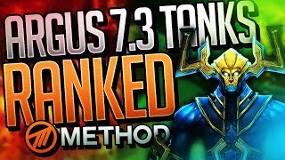 7.3 TANKS RANKED! BEST WORLD OF WARCRAFT ANTORUS THE BURNING THRONE LEGION TANK