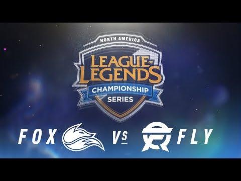 FOX vs. FLY - Week 1 Day 1   NA LCS Spring Split   Echo Fox vs. Flyquest (2018)