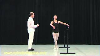 Ballet Lesson - Pirouette from 5th
