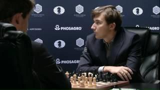 Карлсен - Карякин, 5 партия. (Шипов Сергей)