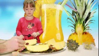 Как красиво и правильно разрезать ананас в виде птичек (лебедей) @ НашаДаша 20 эпизод(Красиво чистим и разрезаем ананас в виде птичек (лебедей) How to chunk pineapple. Pineapple geometry dash in the form of birdies (swan) Ставьт..., 2016-03-18T05:06:20.000Z)