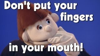 Don't Put Your Fingers In Your Mouth! | Kids Health | The Friday Zone | WTIU | PBS