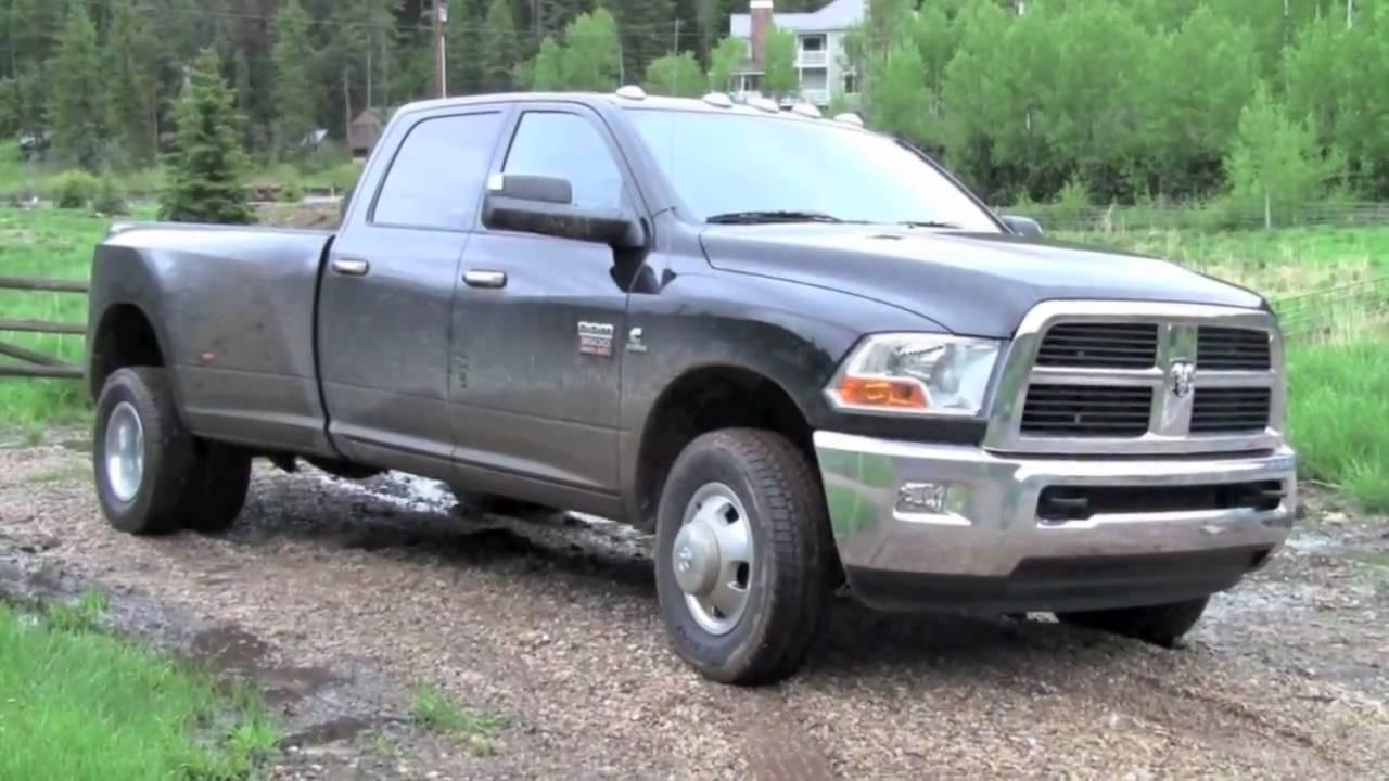 Vehix Review 2010 Dodge Ram 3500 Heavy Duty Youtube