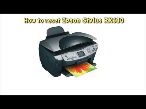 Reset Epson RX630 Waste Ink Pad Counter