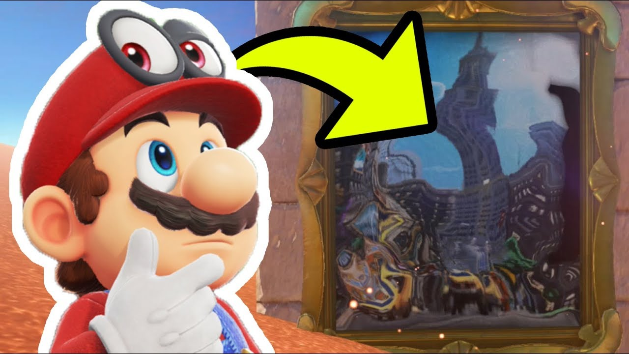 Super Mario Odyssey All Paintings Where To Find Them