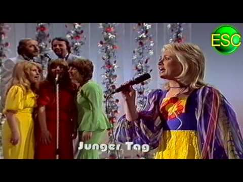 ESC 1973 04 - Germany - Gitte Hænning - Junger Tag