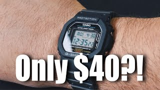 One Of The Best Watches You Can Buy Is Only $40