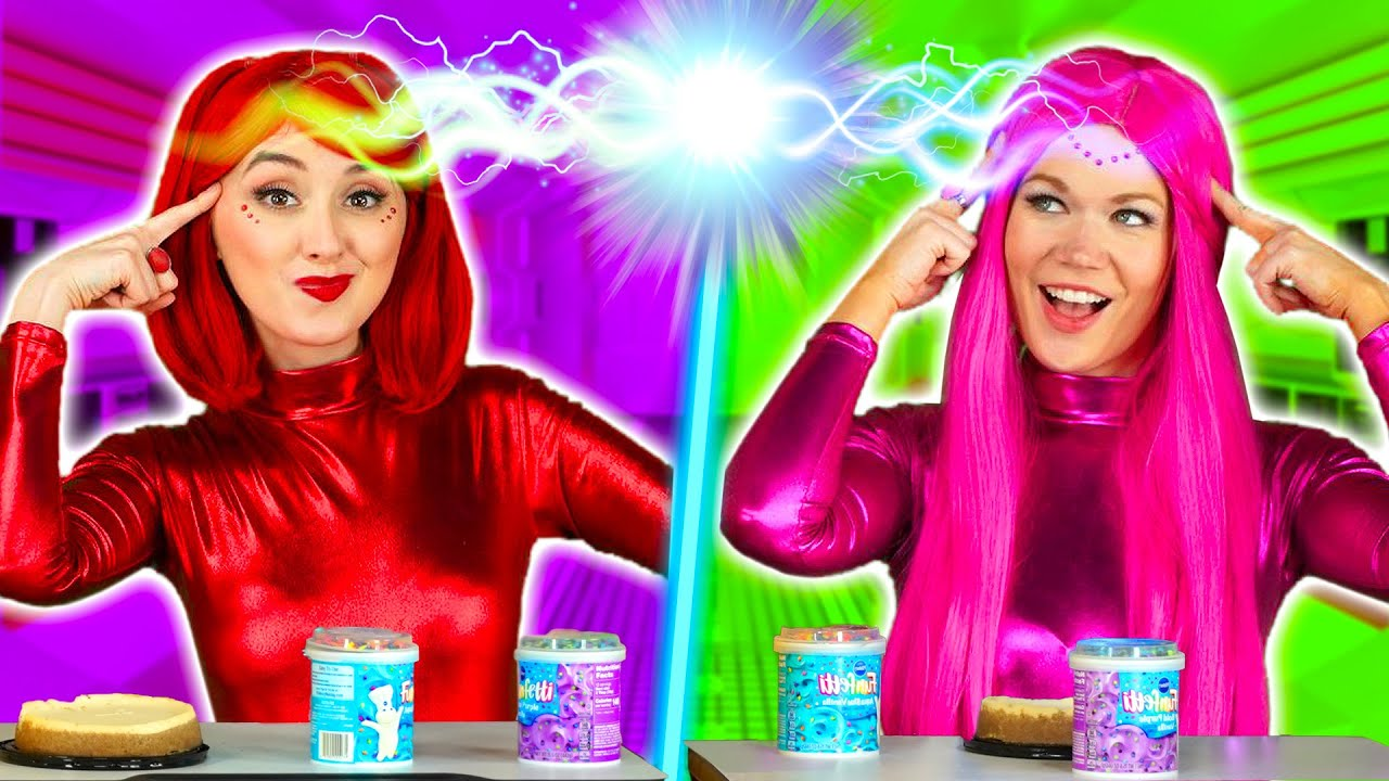 TWIN TELEPATHY SUPER POPS CHALLENGE, COSMIC POP VS ELECTRA POP REAL MAGIC TWIN TEST. Totally TV