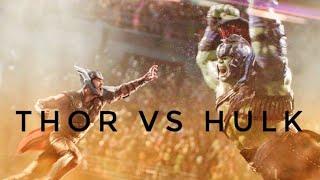 Thor Ragnarok - Thor vs Hulk Full Fight Scene