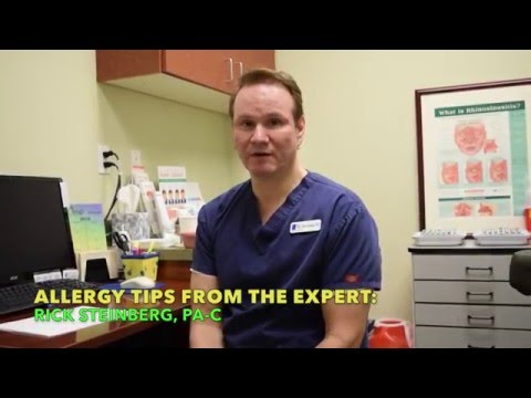 Allergy Tips from Rick Steinburg, PA-C for Sinus Center – Idaho