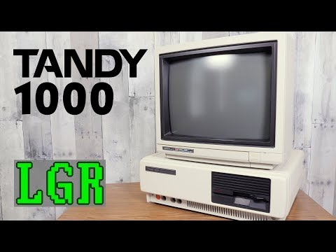 LGR - Restoring & Exploring a 1985 Tandy 1000 PC
