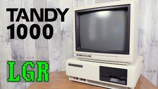 LGR - Restoring & Exploring a 1985 Tandy 1000 PC