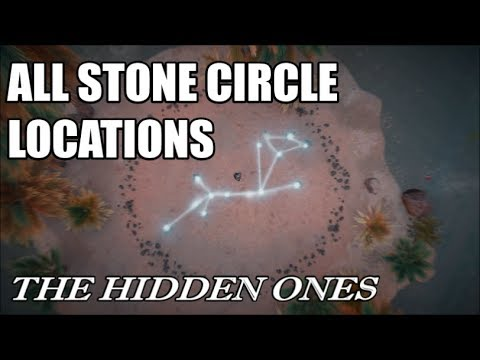 Assassin's Creed: Origins - The Hidden Ones - All Stone Circle Locations & Solutions