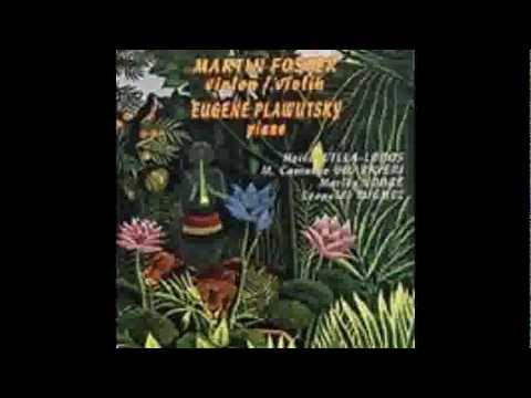 MARLOS NOBRE, Desafio III for violin & piano, duo Foster, Plawutsky
