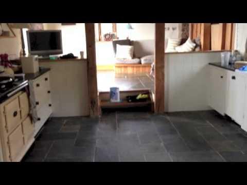 Slate Floor Restoration Devon YouTube
